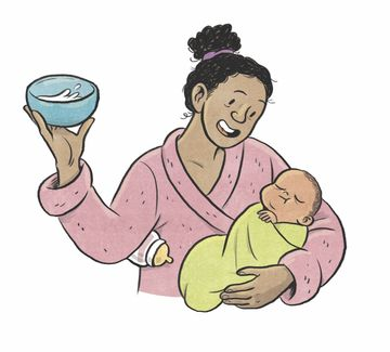 Bottle Feeding Breast Milk