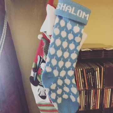 Brook Hanukkah Stocking
