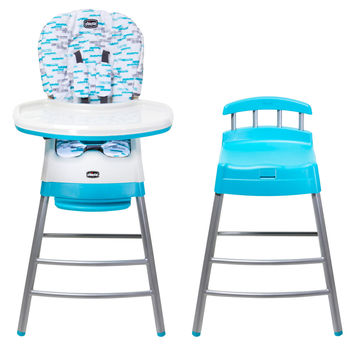 Highchairs Blue Chicco Stack 3 in 1