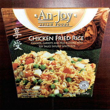 An-Joy Chicken Fried Rice Recalled Due to Listeria