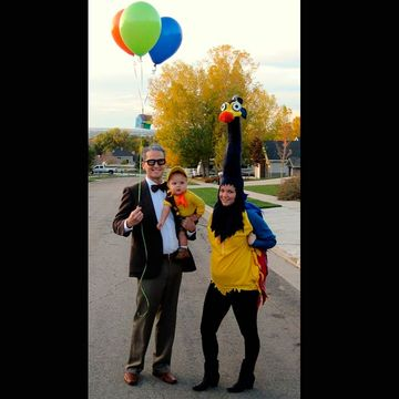 Up Up and Away! & 15 Happening Halloween Costumes for Couples with Babies | Fit ...