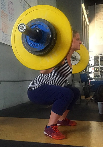 Mrs. Drew Cannon Weightlifting in Pregnancy