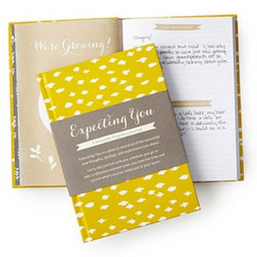 7 Cute Pregnancy Keepsake Books & Journals - Expecting You