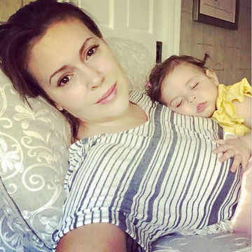 Alyssa Milano Fights to Fly With Breast Milk