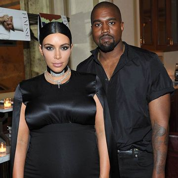 Kanye Throws Kim Kardashian a Pregnancy Birthday Party