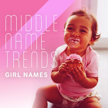Middle Name Trends For Girls