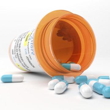 Spilled Capsules from Prescription Bottle