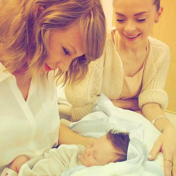 Taylor Swift Meets Godson: Jaime King's Baby