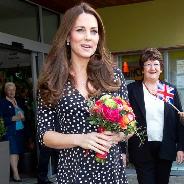 Kate Middleton Reveals Royal Due Date #2