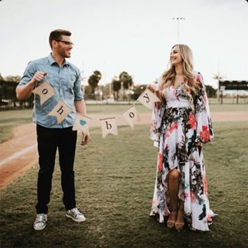 Atlanta Braves Player's Gender Reveal a Big Hit