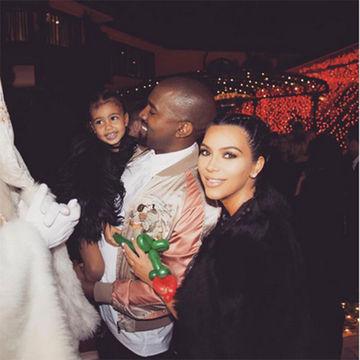 Kim Kardashian Posts First Photo of Baby Saint