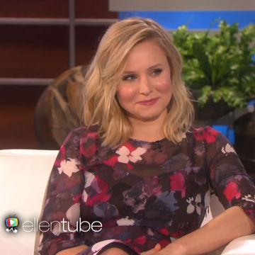 Kristen Bell Tells Ellen About Her Epidural