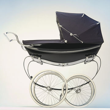 old fashioned baby carriage