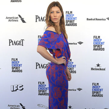 Jessica Biel Insists She's Not Pregnant, Just 'Has a Gut'