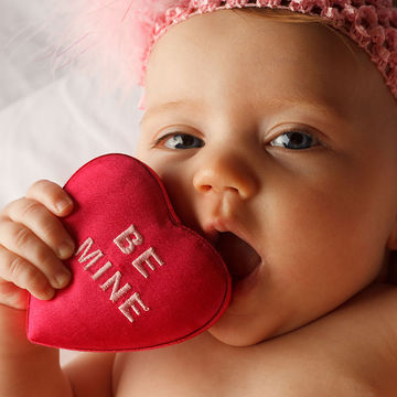 Valentine's Day-Inspired Baby Names We Love