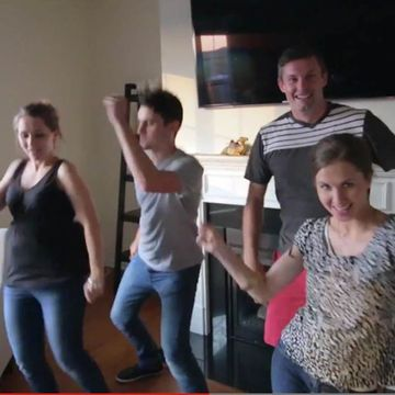 Pregnancy Reveal Parodies 'Shut Up & Dance'