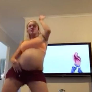 Woman's Water Breaks After Dancing to Justin Bieber