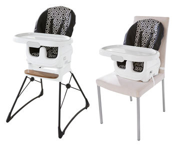 Highchairs Black and White Fisher-Price Deluxe High Chair