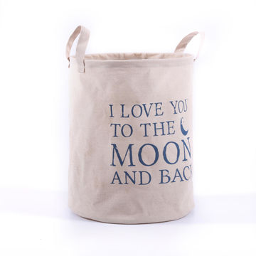 I Love You To The Moon And Back Levtex Baby Storage Bin