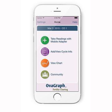 OvaCue TTC app