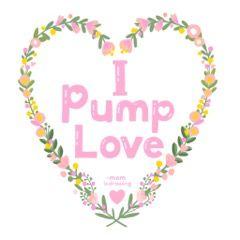 I Pump Love Illustration