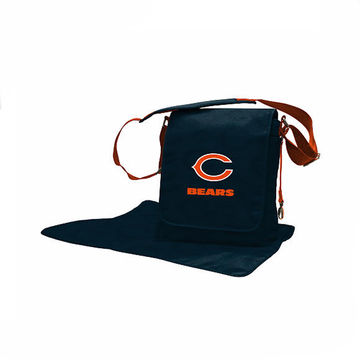 Diaper Bags for Dads Lil Fan Messenger Chicago Bears