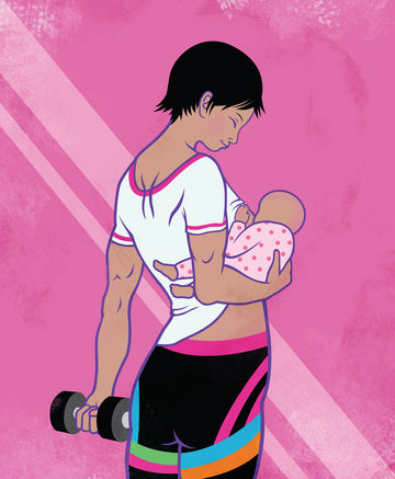 Exercise doesn't have to breast milk impact supply.
