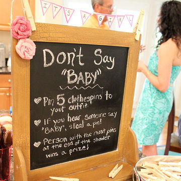 Don't Say Baby! Baby Shower Game