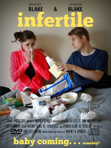 Infertility Announcement Modeled After a Movie Poster