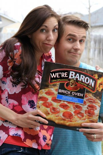 Infertility Announcement Using Pizza