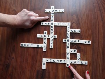 Infertility Scrabble