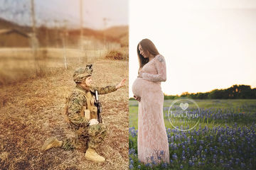 military-maternity-shoot