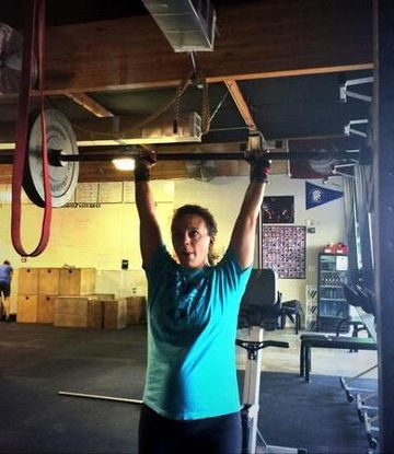 Meghan Umphres Leatherman Weightlifting in Pregnancy