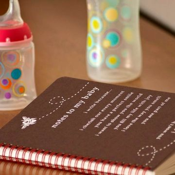 7 Cute Pregnancy Keepsake Books & Journals - Notes to My Baby