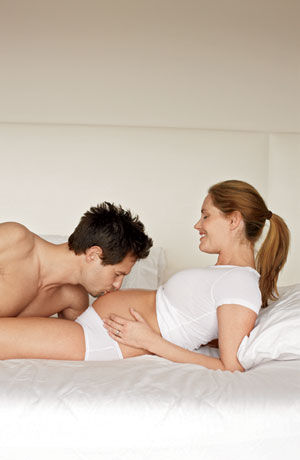 Oral pregnancy sex through
