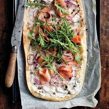 Smoked Salmon Pizza recipe image