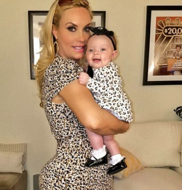 Coco Austin With Daughter