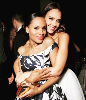 Kerry Washington, Jessica Alba