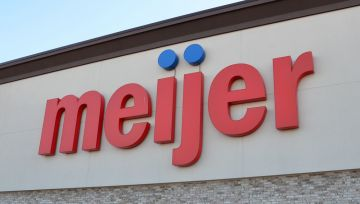 Meijer Grocery Store Front