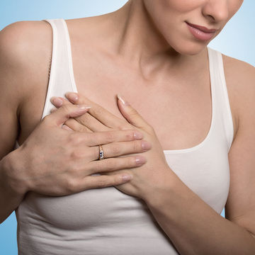Breast tenderness pms