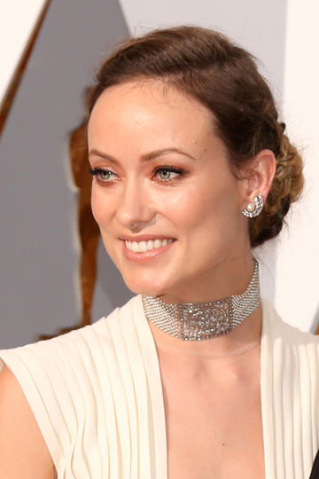 Pregnant Olivia Wilde at the 2016 Academy Awards