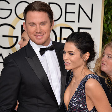 Jenna Dewan-Tatum with Channing Tatum