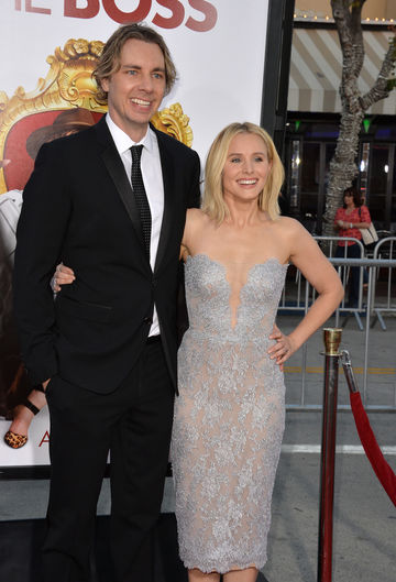 Kristen Bell and Husband Dax Shepard at Movie Premiere The Boss