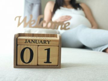 Pregnancy New Year's Resolutions