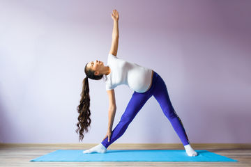 Pregnant Woman Stretches