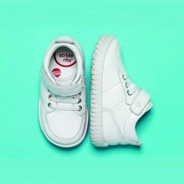 Modern version of classic Stride Rite booties