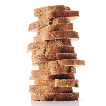 stack of whole grain bread