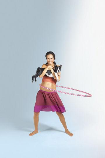 Wii fit sex hula hoop