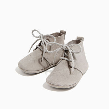 Unisex lace up booties from Zara